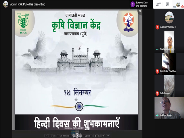 Celebration of Hindi Diwas- Online