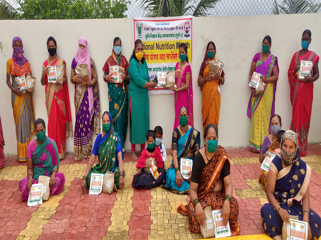 Distribution of Nutrition Kit